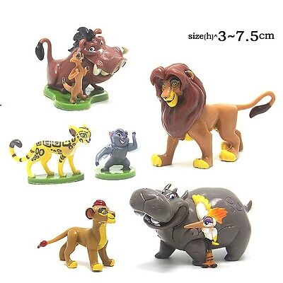 6x Lion King Lion Guard Figure Playset Simba Kion Timon Pumbaa Kid Toy Xmas Gift