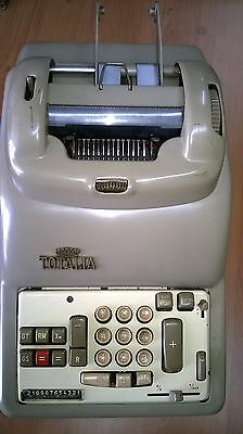 TOTALIA LAGOMARSINO MOD.8561 DEL 1954 VINTAGE CALCULATOR no Olivetti MADE ITALY