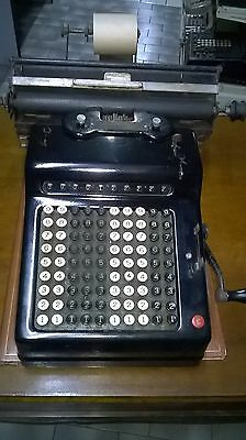 Peters Model 40 Calcolatrice Antica  Del 1922 Old Adding Machine