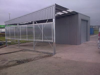 Valet & Wash Bay - Car Wash Steel Building - Steel Framed Buildings UK - UK's #1