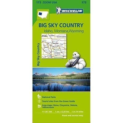 Big Sky Countries Zoom Michelin Map 172