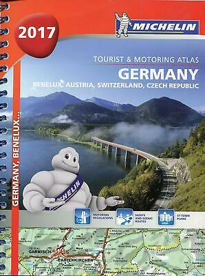 Michelin  Germany/Austria Atlas 2017