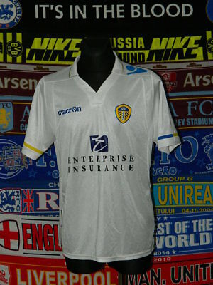 5/5 Leeds United adults L MINT 2011 football shirt jersey trikot soccer