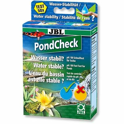JBL PondCheck Quick test to determine the pH and KH values