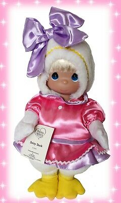 "Disney Daisy Duck Doll Precious Moments 12"" Vinyl  Doll"