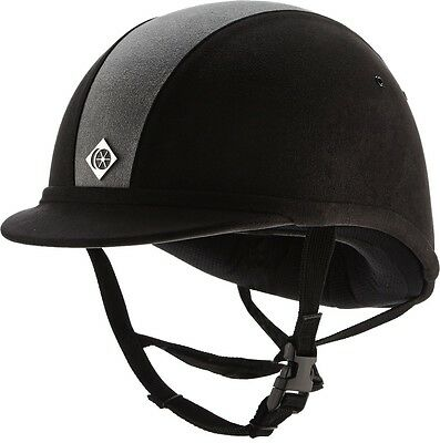 Charles Owen YR8 Horse Riding PAS 015 Kitemark Competition Helmet Hat Size 52-61