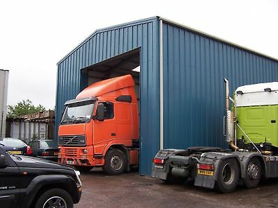 Truck Store - Steel Building - Steel Framed Buildings UK - UK's No1 Supplier