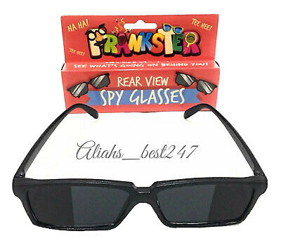 Spy Glasses Rear view Side Mirror See Who is Behind For Surveillance Fun Toy