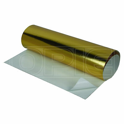 "HeatShield Cold-Gold Adhesive Thermal Shield 12"" x 24"" - TruGold Technology"