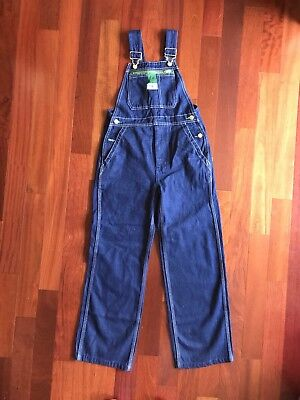 New LIBERTY Overalls Carpenter Jeans DENIM Coveralls Youth Size 14