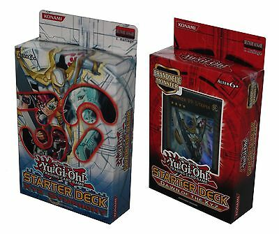 Bundle-2 x YU-GI-OH! STARTER DECK-SYMPHONY-DAWN OF THE XYZ-TRADING-deutsch-neu