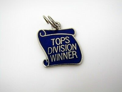 Vintage Collectible Charm: TOPS Weight Loss DIVISION WINNER