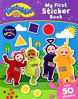 Teletubbies | My First Sticker Book | Over 50 Stickers | CBeebies | New | Cheap