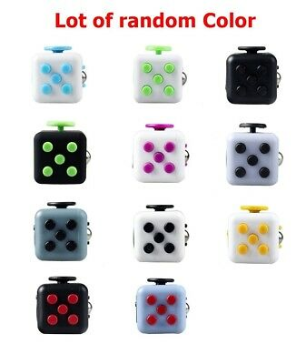 65x Magic Fidget Cube Anxiety Stress Relief Therapy Focus Gift For Adult Kids