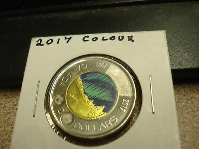 Colour - 2017 Canada Brilliant Uncirculated Two Dollar coin - Canadian Toonie