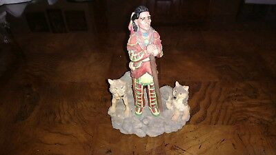 """Friend of Feather and Wolves Figurine 4"""" x 6"""""""