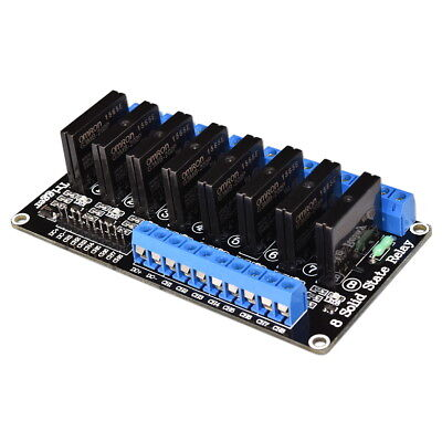 5V 8-Channel Solid State SSR Relay Module High Low Level Trigge OMRON G3MB-202P