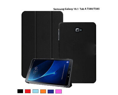 """Slim Magnetic Samsung Galaxy Case Cover For Tab A6 10.1"""" Inch SM-T580 SM-T585"""