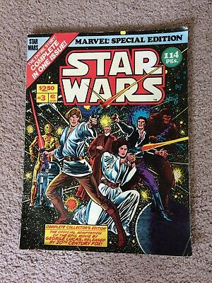 MARVEL SPECIAL EDITION featuring STAR WARS OVERSIZE COMIC ORIGINAL #3 1978 114 p