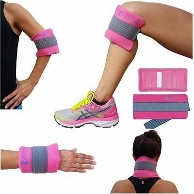 Large Reusable Ice Pack Gel Wrap Hot and Cold Therapy Pain Relief Arm Elbow Knee