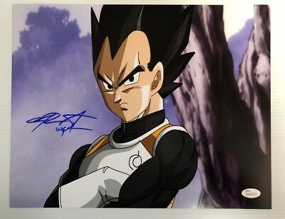 Chris Sabat Signed Autographed 11x14  Photo Dragon Ball Z Vegeta JSA COA 8