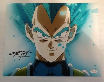 Chris Sabat Signed Autographed 11x14  Photo Dragon Ball Z Vegeta JSA COA 28