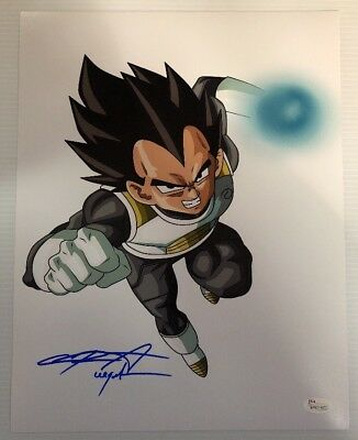 Chris Sabat Signed Autographed 11x14  Photo Dragon Ball Z Vegeta JSA COA 32