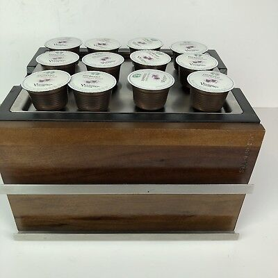 Starbucks Expresso Roast Coffee Pods and Container Storage Drawers Lot 36