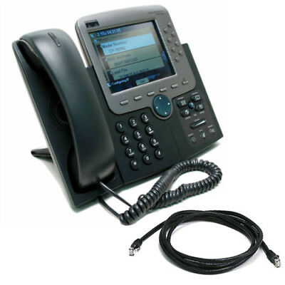 Cisco 7970 Unified IP Phone CP-7970G with SCCP Firmware