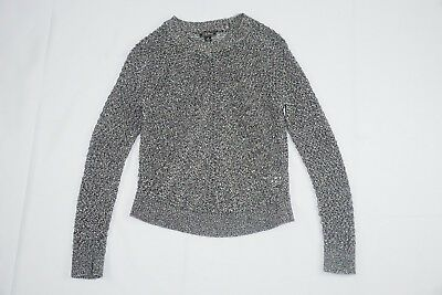 lucky brand tops TOMORROW SWEATER DARK NATURAL 79.50 NWT