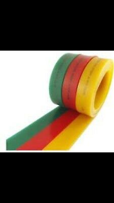 """screen printing squeegee blade 12"""" Inch. 65 Durometer."""
