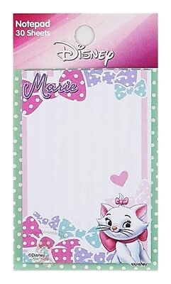 Disney Marie 30 Sheets Mini Notepad/memo Pad/small Note (2018)