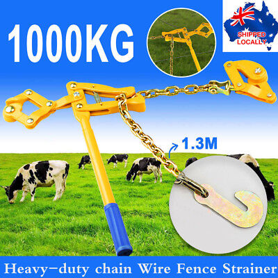 Heavy-Duty Wire Fencer Strainer Plain&Barbed Chain Fencing Repair Gripple Tool+