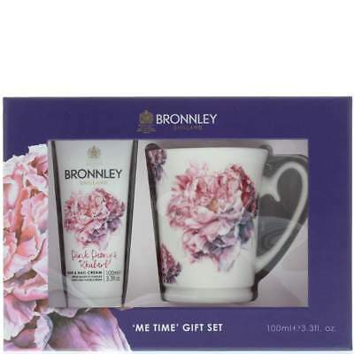 Bronnley Pink Peony & Rhubarb Hand Cream 100ml & M | Brand New | Free Delivery