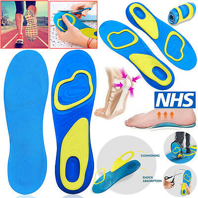 SCHOLL GEL ACTIVE Activ EVERYDAY, WORK, SPORT INSOLES for MEN | WOMEN ALL SIZES