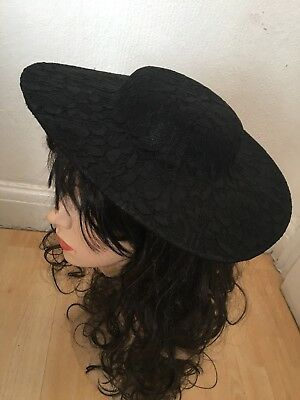 Hat Polyester Lace Fascinator  Base 30 cm for making Fascinators Party Hats