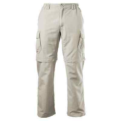 Kathmandu Kanching Men's NFZ Versatile Zip Off Cargo Travel Trousers Pants