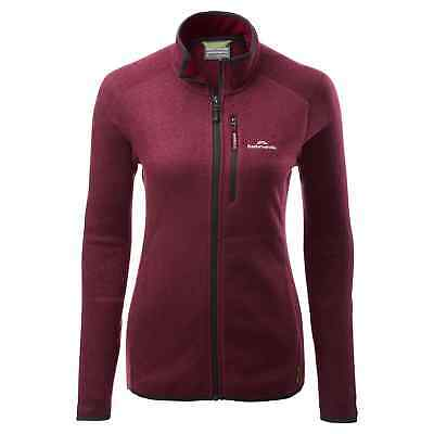 Kathmandu Disperse Women's Quick Drying Breathable Active Fleece Jacket Jumper