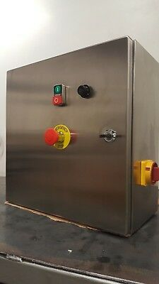 Electrical Control Panel, Stainless Steel 0.4kw 3phase