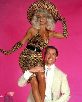 Arnold Schwarzenegger & Loni Anderson [1014734] 8x10 photo (& other sizes )