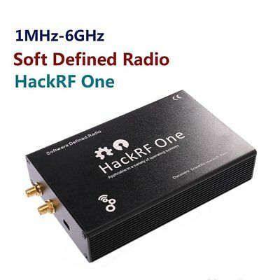 HackRF One Software Defined Radio RTL SDR 1MHz to 6 GHz Signal Transceivery@