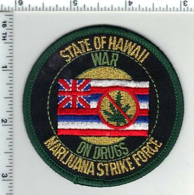 State of Hawaii - War on Drugs - Marijuana Strike Force patch