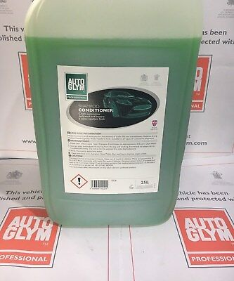 NEW Autoglym Professional SHAMPOO CONDITIONER 25L 25 Litre FREE AIR FRESHENER