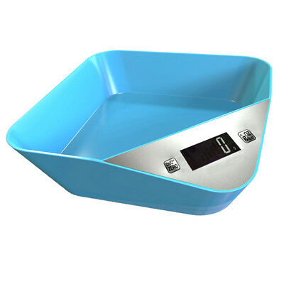 5kg Modern Blue Digital LCD Electronic Kitchen Cooking Food Weighing Scales