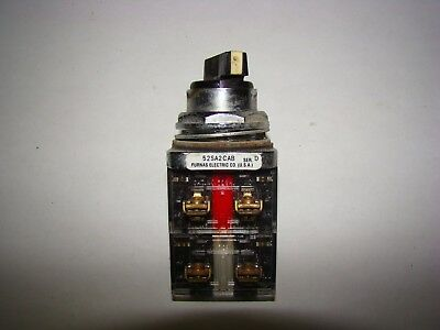 Furnas 52SA2CAB 3 Position Switch Series D, Used