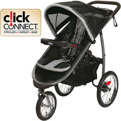 Jogging Stroller FastAction Fold Jogger Click Connect Reclining Seat Baby Gotham