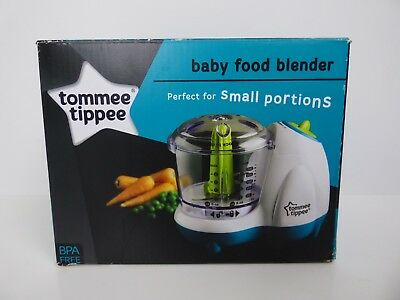 Tommee Tippee Baby Food Processor Blender Explora Maker Toddler Small