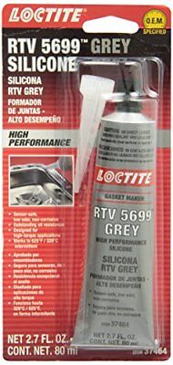 Loctite 37464 Grey RTV 598 High Performance Silicone. 80 ml.