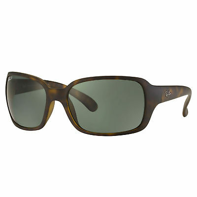 RayBan RB4068 Polarized Sunglasses Tortoise/ Green Classic 60mm