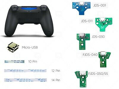 Sony Playstation PS4 Controller USB Charging Port Board Ribbon JDS 030 001 030